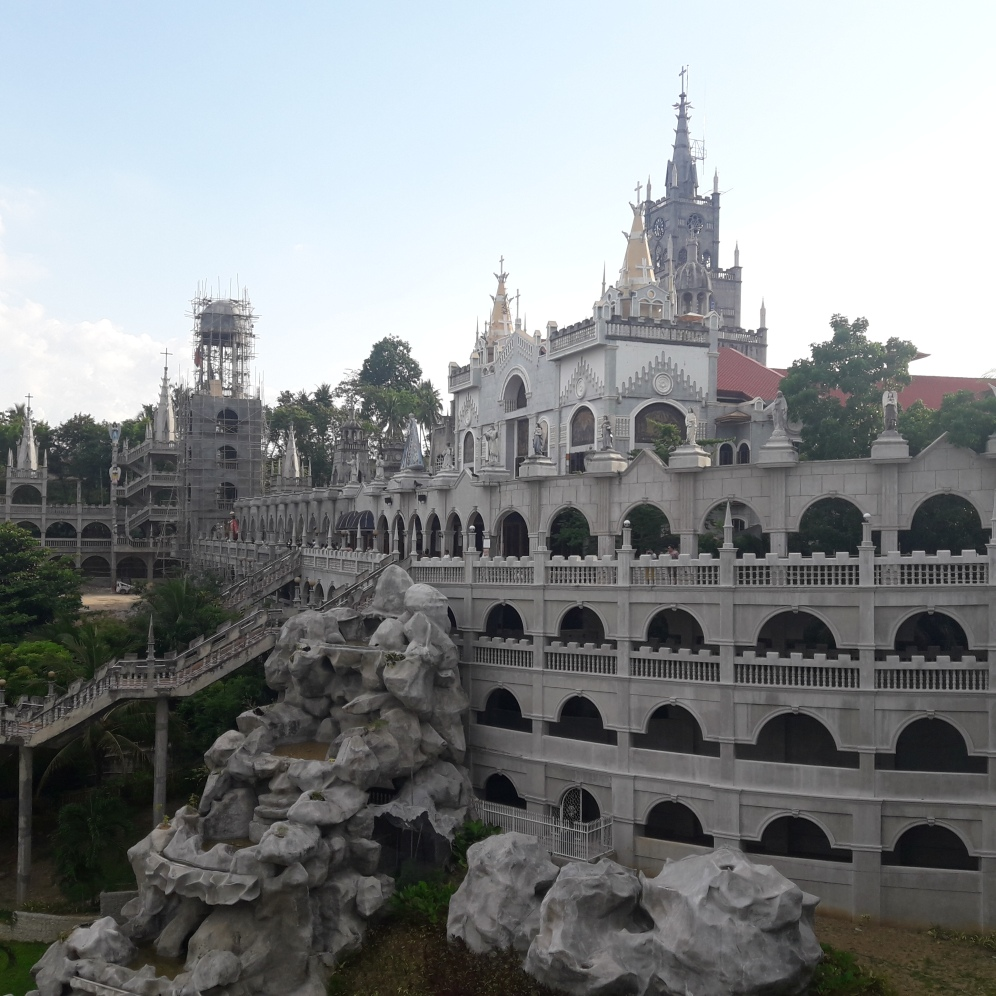 A View of Simala's Facade